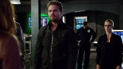 Arrow 06x09 : Irreconcilable Differences- Seriesaddict